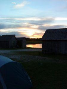 Gotland - Sun set